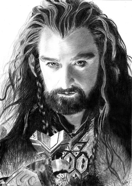 thorin oakenshield by baricka-d5ovyp5