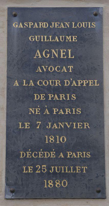 BRUNOY, tombe du général AGNEL ( 1761- 1840 )------