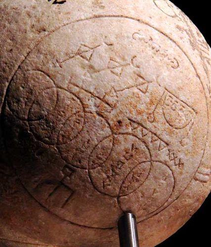 890h3c Sphère magique 2e-3e s. après JC