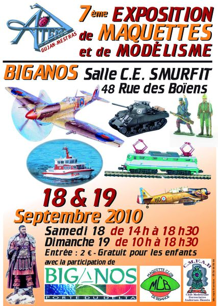 Exposition Maquettes 2010