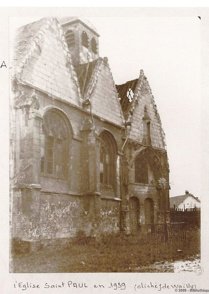 église Saint Paul 1939