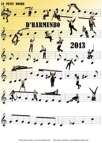 Harmunbo The Calendrier 2013