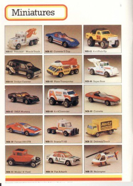 catalogue matchbox 1986 p06