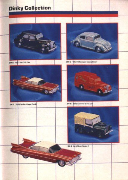 catalogue matchbox annee 1989 t67 dinky collection