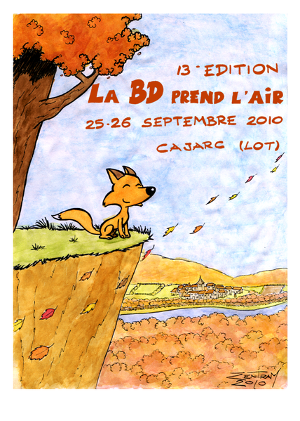 affiche non officielle BD prend l'air'