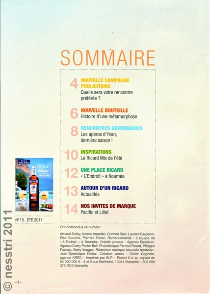 SOMMAIRE(1)