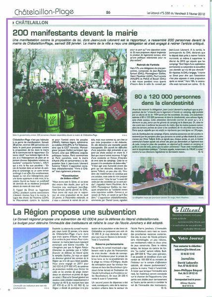 2012 02 03, Le Littoral, Châtel