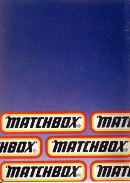 catalogue matchbox 1986 p48
