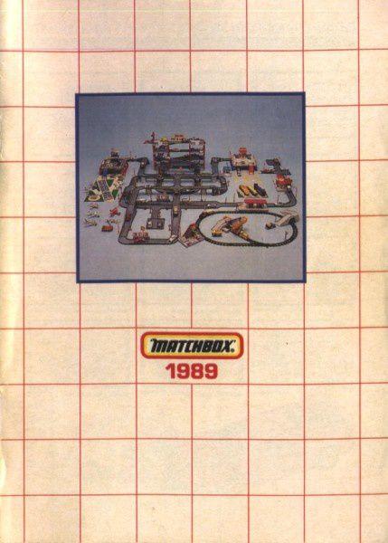 catalogue matchbox annee 1989 t01