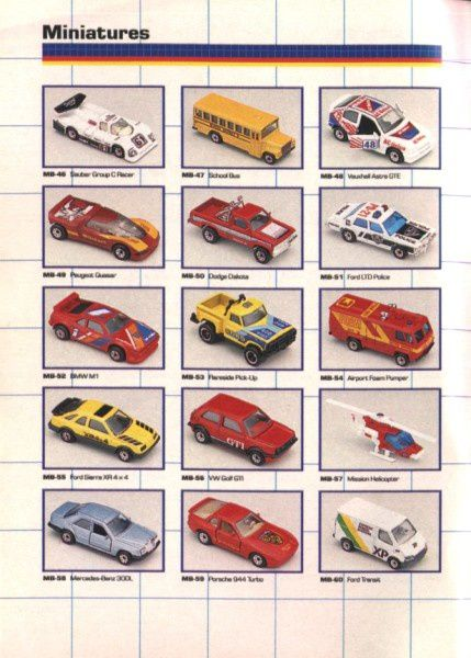 catalogue matchbox annee 1989 t08 ford transit