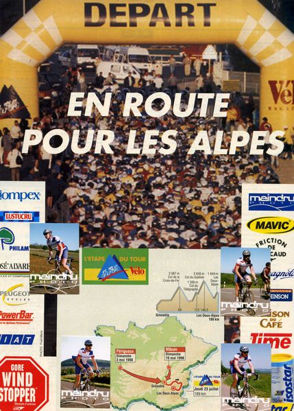 Qualification Etape du Tour 1998