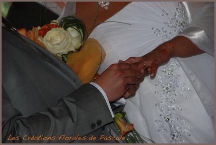 Bouquet mariée retombant Nawal 131