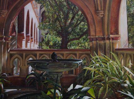 Monasterio de Guadalupe 2010.Oleo sobre lienzo.50 X 70