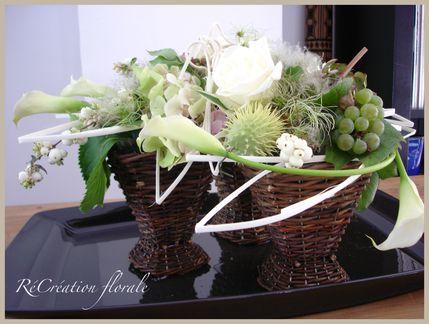 Raisin et fleurs