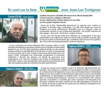 3 candidats hommes