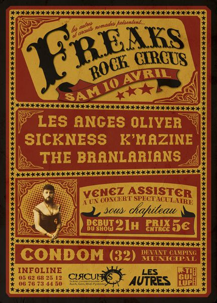 freaks rock circus 2010