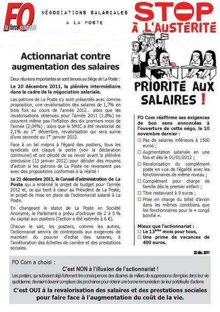 2011.12.22 actionnariat contre augmentation des salaires