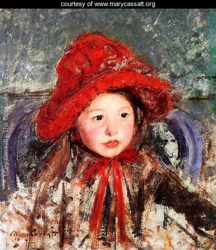 Little-Girl-In-A-Large-Red-Hat-large