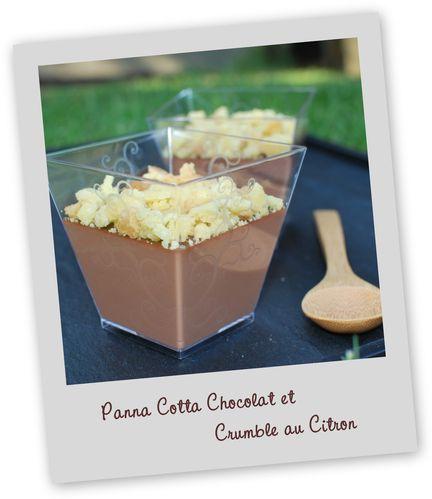 panna cotta chocolat crumble citron2