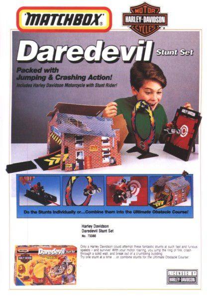 catalogue matchbox 1995-96 l21 daredevil