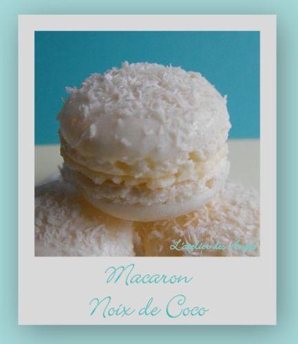 Macarons noix de coco 5