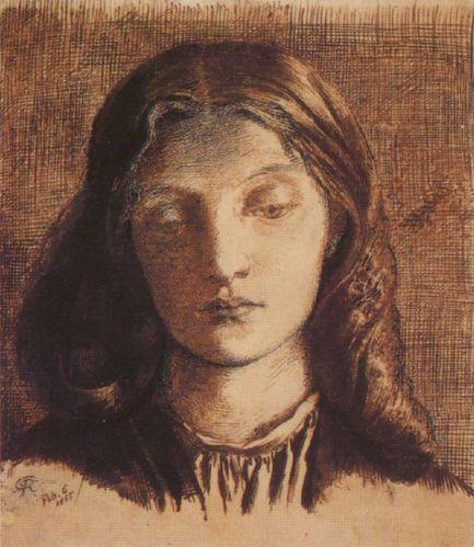 Dante Gabriel Rossetti - Portrait of Elizabeth Siddal