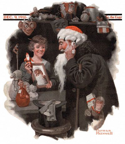 1916-12-09-Saturday-Evening-Post-Norman-Rockwell-cover-Man-