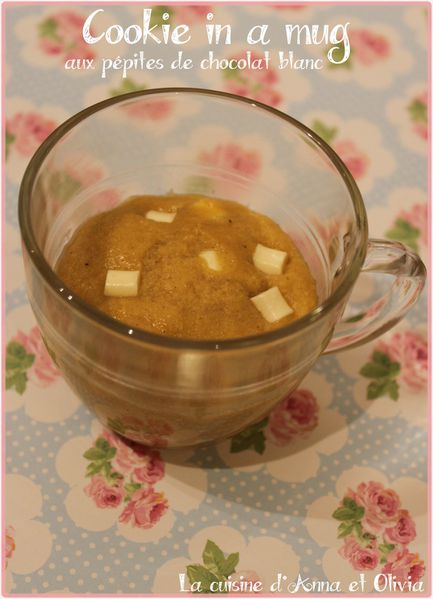 Mug Cake Cookie Au Four
