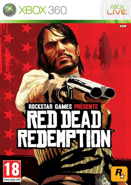 Red-Dead-Redemption xbox -360 Jaquette