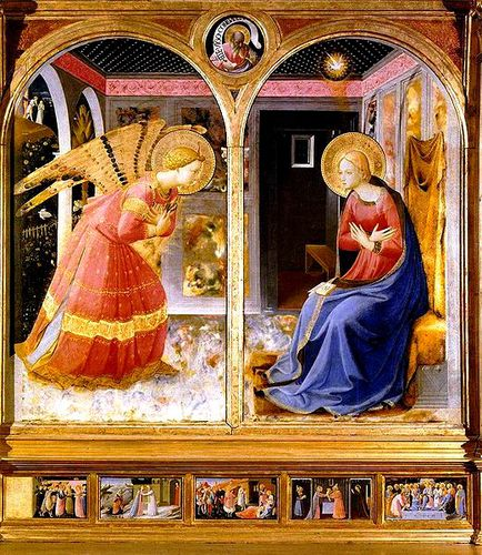 Fra Angelico Annonciation b