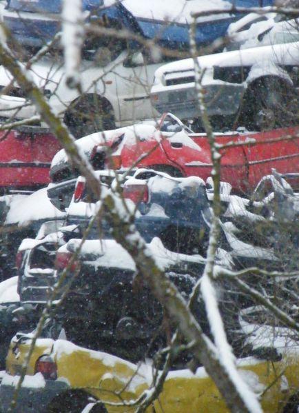 cassesous la neige