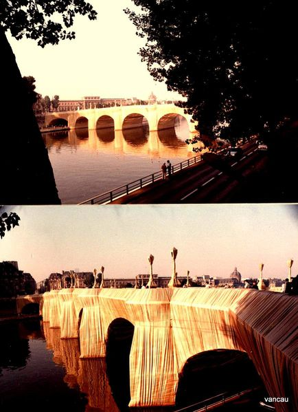 Christo à Paris