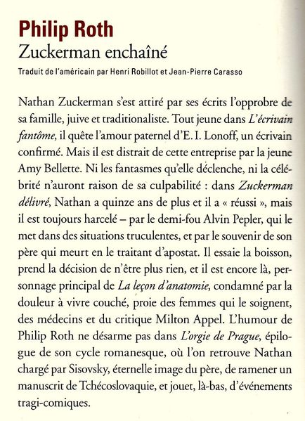 ROTH Zuckerman enchaîné051