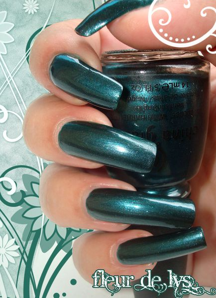 China Glaze Emerald Fitzgerald ( VINTAGE VIXEN COLLECTION