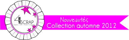 badge nouveaut&#xE9;s 4enscrap