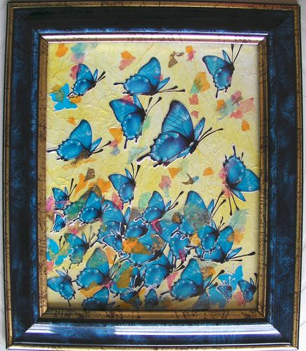 collage-papier-papillon-bleu