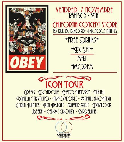 Obey Icon Tour Nantes Xavier RIDE