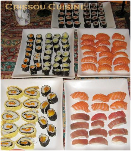 sushis divers