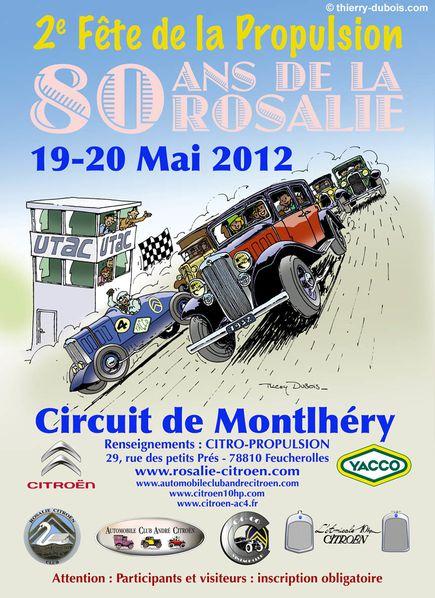80 ans de la Rosalie Citroën