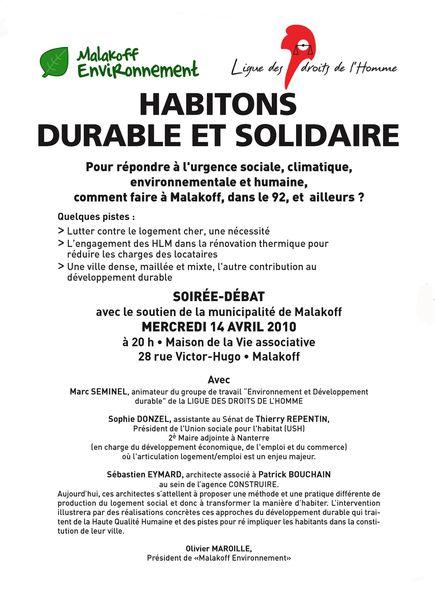 Tract habitons