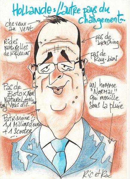Hollande...l'autre pays du changement