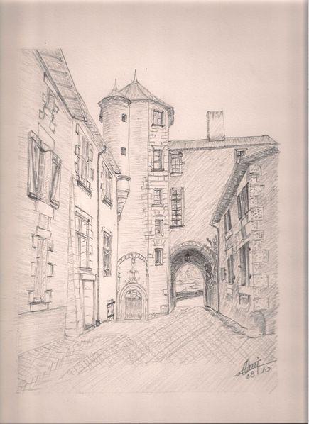Nouaillé porche Mairie
