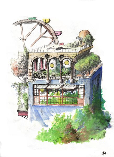 Illustrations le jardin utopique rencontres andr le for Architecture utopique 60