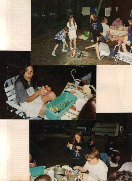Camping avec les familles durant le week-end 001