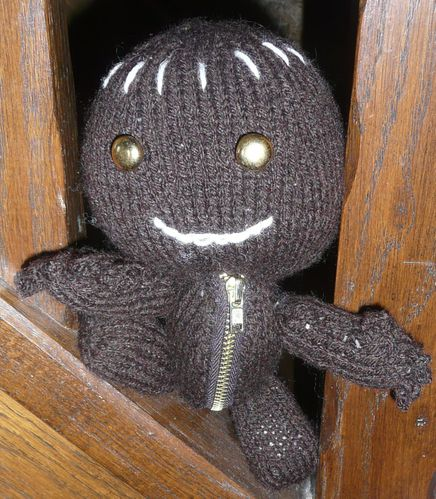 sackboy marron