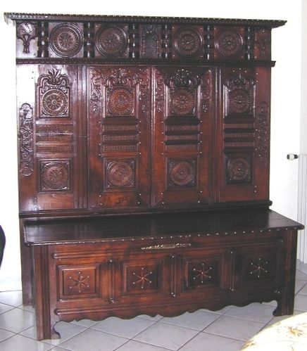 histoire du lit clos association micarmor. Black Bedroom Furniture Sets. Home Design Ideas