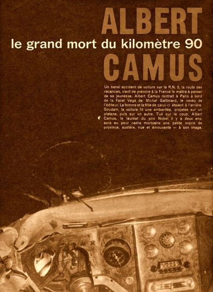 Camus-Accident-1960-Mortuaire de Villeblevin
