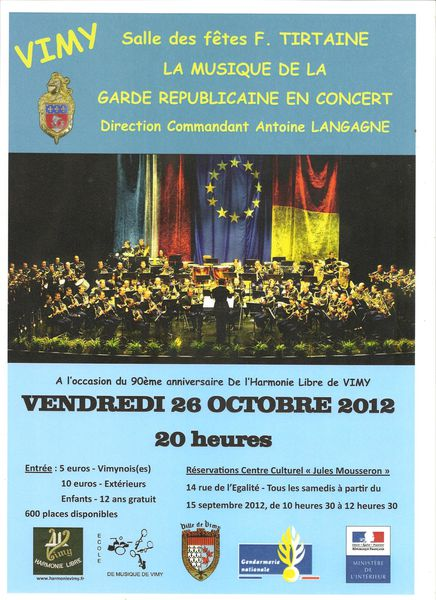 Garde Republicaine Affiche