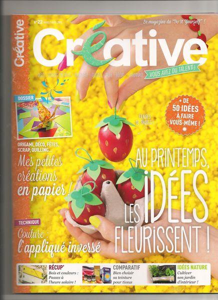Créative page de couverture 001