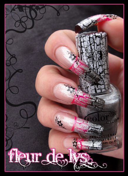 Nail Art crackle